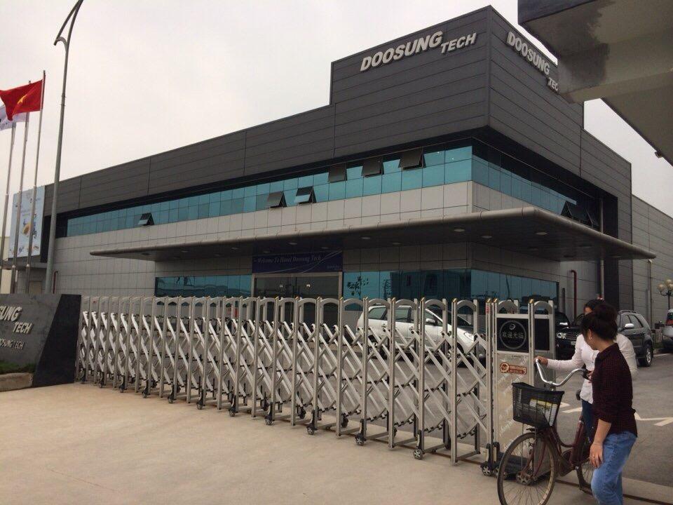 dự án lắp đặt cửa tự động Doongsoon