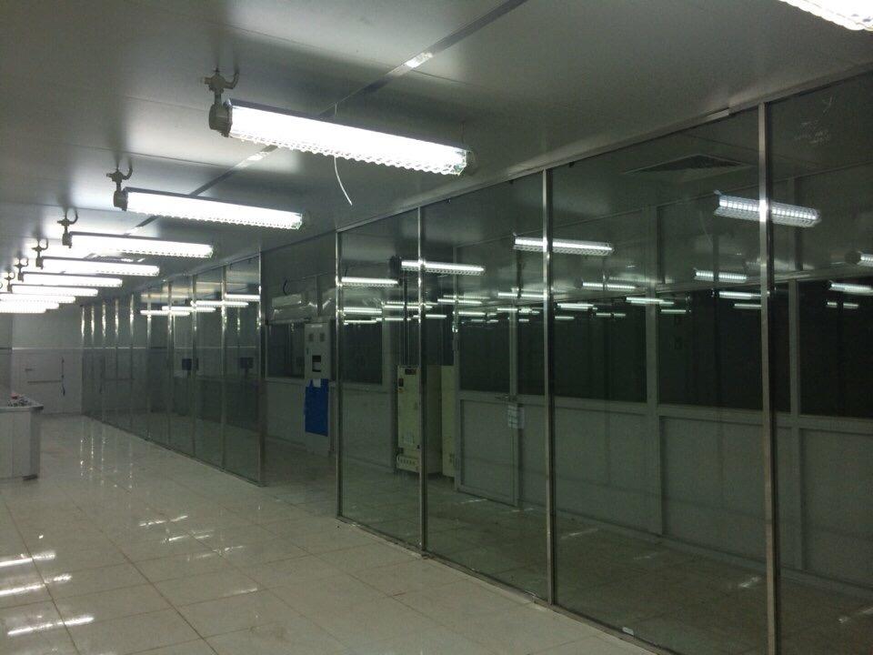 dự án lắp đặt cửa tự động cho cửa ra vào của công ty