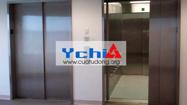 gia công inox cho ốp cửa thang máy