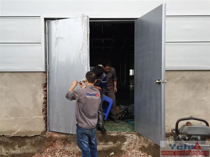 cửa chì phòng xquang ychi 14