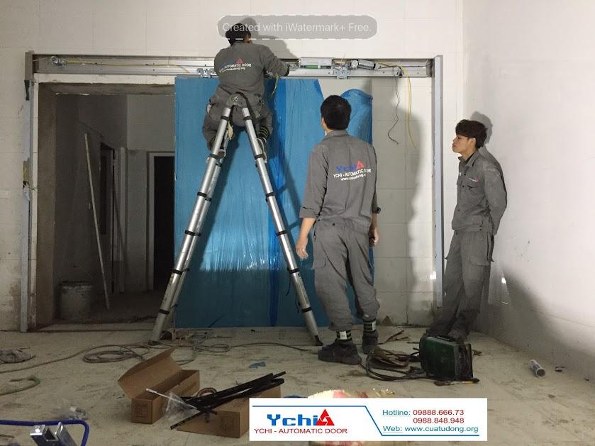 cửa chì phòng xquang ychi 7
