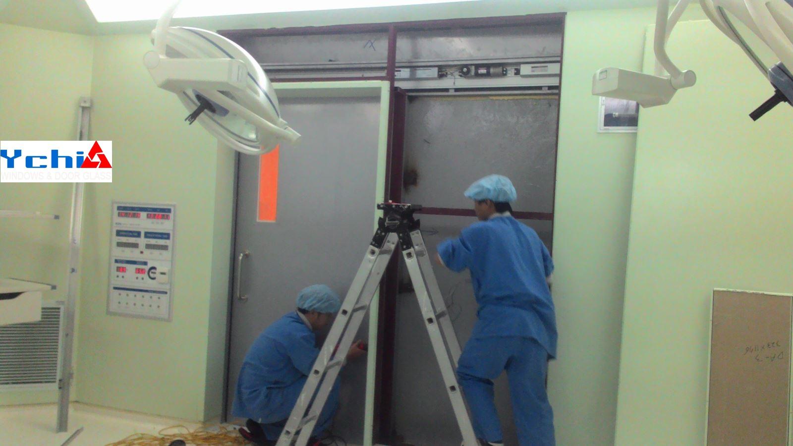 Dự án lắp đặt cửa tự động tại Hà Nội