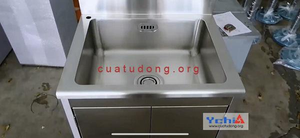 Bồn rửa tay inox cao cấp bền đẹp sản xuất tại Ychi Việt Nam
