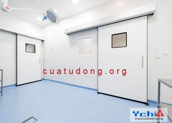Lắp đặt cửa phòng mổ bệnh viện
