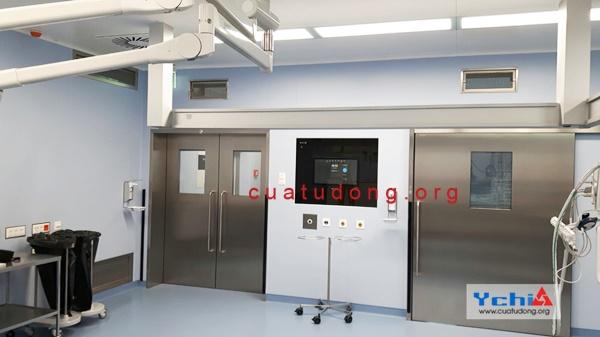 cửa chì phòng x quang