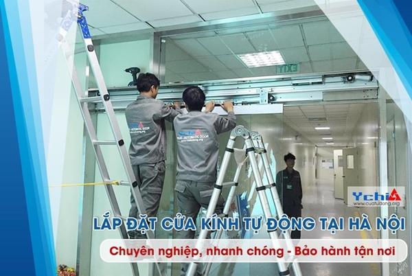 Cửa kính tự động Hà Nội